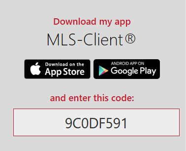 MLS-Touch Google Play and App Store